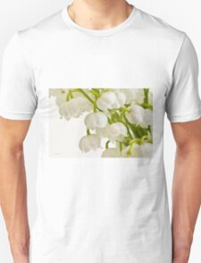 Lily Of The Valley - Macro  Unisex T-Shirt