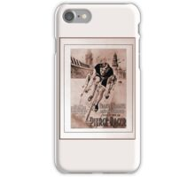 1903 American cycling champion historical ad iPhone Case/Skin
