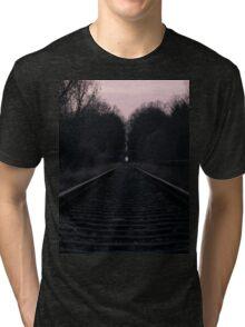 Tracks in Dusk Tri-blend T-Shirt