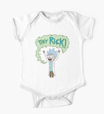 TINY RICK! One Piece - Short Sleeve