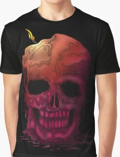 Skull Candle (2) Graphic T-Shirt