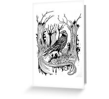 The Black Crow Greeting Card