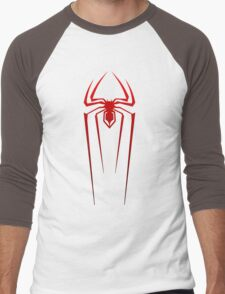 SPIDERMAN  / LOGO - Drawing Men's Baseball ¾ T-Shirt