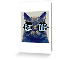Bernie more purr Greeting Card