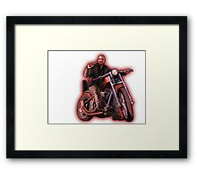 GTA V / GTA IV Johnny Klebitz Framed Print