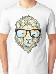 KRW Cool Hipster Lion Unisex T-Shirt