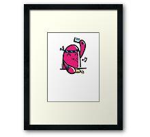 mr sushi Framed Print