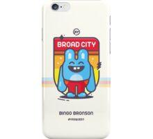 Bingo Bronson - Badge iPhone Case/Skin