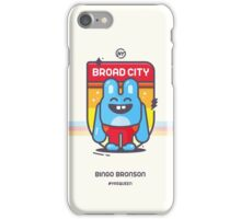Bingo Bronson - Badge iPhone Case/Skin