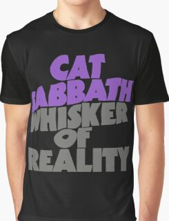 Cat Sabbath - Whisker of Reality Graphic T-Shirt
