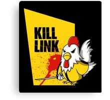 Kill Link Canvas Print