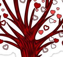 Heart Tree Sticker