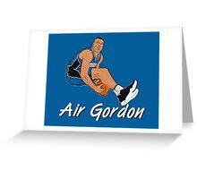 Air Gordon Greeting Card
