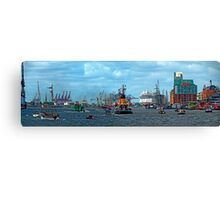Germany - Port of Hamburg Canvas Print