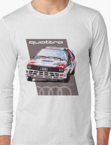Audi Quattro Rally Drawing - Warm Long Sleeve T-Shirt