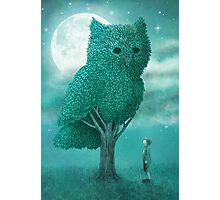The Night Gardener - Cover Photographic Print