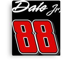 Dale Jr. 88 Canvas Print