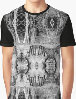 Hands of Nature Graphic T-Shirt