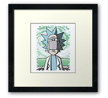 The Son Of Science Framed Print