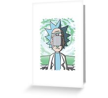 The Son Of Science Greeting Card