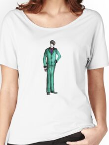Beetles Green Sport Suit Music Blue Man Male Fashion Women's Relaxed Fit T-Shirt