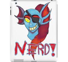 Undyne NERD! iPad Case/Skin