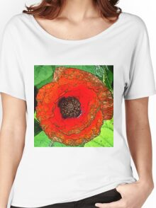 Poppy20150601 Women's Relaxed Fit T-Shirt