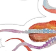 Watercolor Octopus Sticker