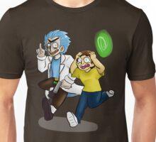 Y-You gotta run like f*ck, M-Morty! Unisex T-Shirt