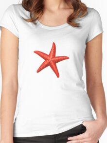 Sea stars Women's Fitted Scoop T-Shirt