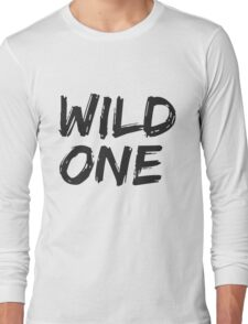 BFF SHIRTS: Wild One... (1 of 2) Long Sleeve T-Shirt