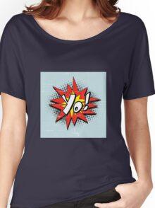 Yo Burst Comic Style Women's Relaxed Fit T-Shirt