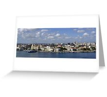 Havana skyline Greeting Card
