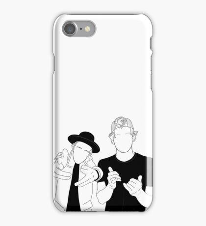 Justin Bieber and Cody Simpson iPhone Case/Skin