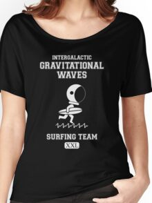 Gravitational Waves Surfing Team Women's Relaxed Fit T-Shirt