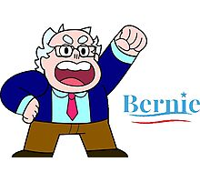 Steven Universe Supports Bernie! Photographic Print