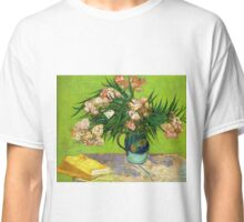 Books and Oleander Classic T-Shirt