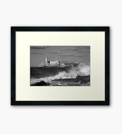 Morro Castle Framed Print