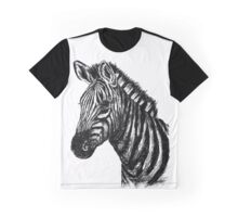 Zebra Sketch Graphic T-Shirt
