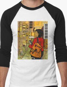 Urban Music Student Men's Baseball ¾ T-Shirt