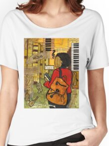 Urban Music Student Women's Relaxed Fit T-Shirt