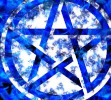 Sam and Dean with Pentagram ~ Supernatural Sticker
