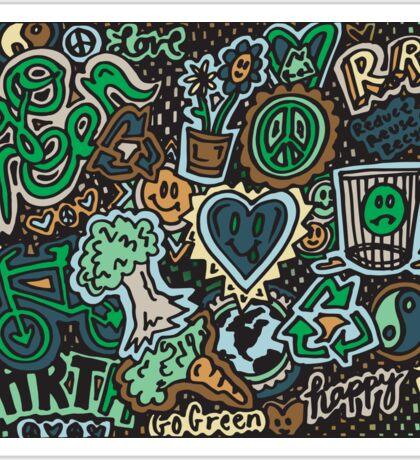 We Love the eARTh!!! Sticker