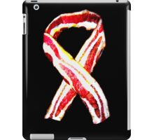 Don't Forget The Bacon Awareness Ribbon iPad Case/Skin