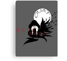 Once Upon A Time Dark Swan Canvas Print