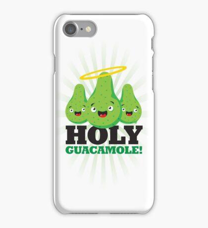 Holy Guacamole! (Light Version) iPhone Case/Skin
