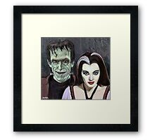 Lily and Herman Munster Framed Print