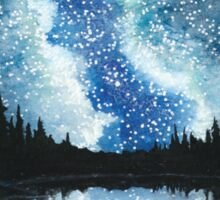 Skyscape - Vivid Blue Milky Way Sticker
