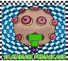 Skatamari Demaskank. A #RedbubbleArtParty submission (UNOFFICIAL DESIGN) Photographic Print