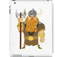 Dwarf Viking iPad Case/Skin